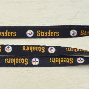 NFL Pittsburgh Steelers DOG LEASH/ピッツバーグ・スティーラーズ 小型犬 中型犬 ナイロンリード 犬 猫 リード 首輪 ペット 輸入品|buddy-us-clothing