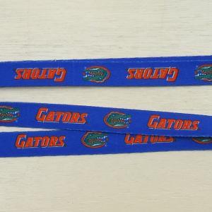Florida Gators DOG LEASH/フロリダ・ゲーターズ 小型犬 中型犬 ナイロンリード 犬 猫 リード 首輪 ペット 輸入品|buddy-us-clothing