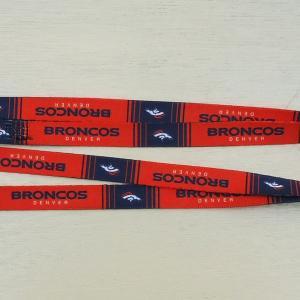 NFL DENVER BRONCOS DOG LEASH/デンバー ブロンコス 小型犬 中型犬 ナイロンリード 犬 猫 リード 首輪 ペット 輸入品|buddy-us-clothing