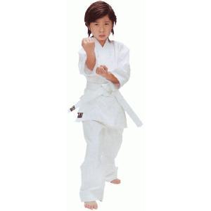 拳王晒太綾伝統空手着3点セット(道衣・パンツ・白帯)