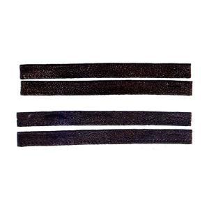 鮫革面乳革下付用 20cm2本組|budogutozando