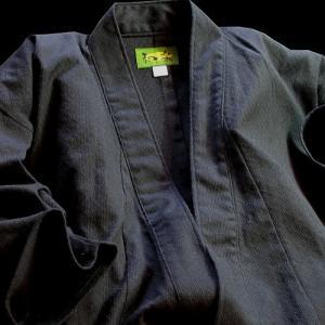 純綿薄型刺子居合着「和楽」居合道衣 上衣 居合道着
