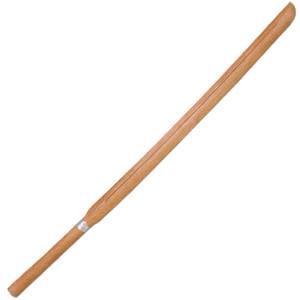 剣道 素振り用 木刀 トレーニング用木刀 素振 樋入木刀3.8尺 赤樫|budogutozando
