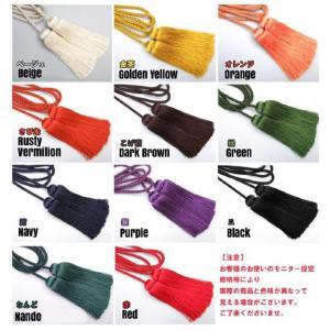金襴袋用房紐 刀剣 真剣 居合刀 用 11色