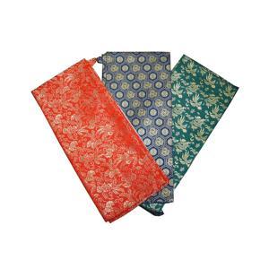 京都西陣織の着物の生地を使用した刀剣(真剣・居合刀)用の上製金襴袋です。 サイズは刀用・脇差用・短刀...