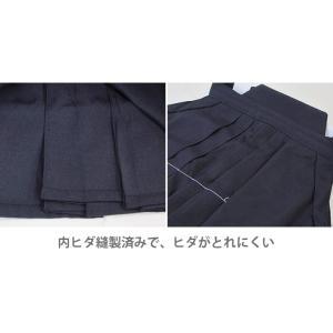 剣道袴 TRテトロン剣道袴 3色 (紺・白・黒) 16〜28号 内ひだ縫製|budogutozando|05