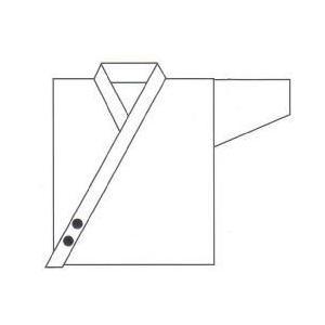 刺繍 道衣 前合わせ(約2.5 x 2.5cm)(1文字216円)|budogutozando