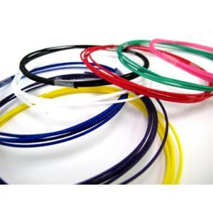 剣道竹刀用の弦です。 10色の中からお選び頂けます。  テトロン製(茶・橙のみナイロン製です。) 長...