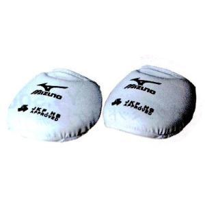 空手道 ガード サポーター ミズノ 空手 インステップガード(左右1組) 23JHA60201 全国高校体育連盟専門部指定品|budouenshop