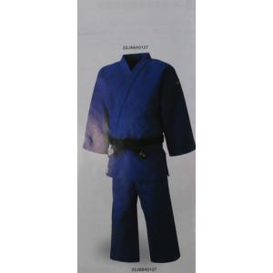 日本製 送料無料 送料込み 全柔連・IJF(国際柔道連盟)モデル柔道衣 上衣のみ ブルー|budouenshop