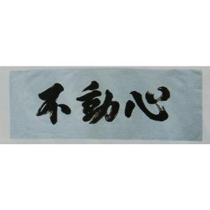 剣道 面手拭 不動心 巾35cm×長さ98cm |budouenshop