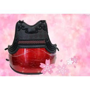 赤姫防具セット、黒胴から赤玉虫胴に変更の追加賃金 SS,S, Mのみ山飾り胸|budouenshop