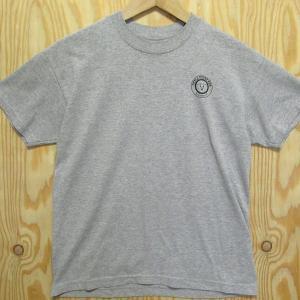 アメリカ古着 Tシャツ SKULL CREEK BBQ グレー L(14-16)ユース バックブリント ネイティブ|buffalohip