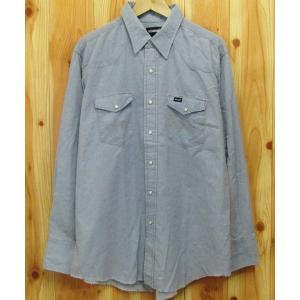 古着『ラングラー/Wrangler ウエスタンシャツ 17.1/2-35』ダンガリー USA製|buffalohip