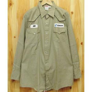 古着『UNITOG ワークシャツ 17.1/2』ウエスタン シャツ 長袖 アメリカ製 ワークウェア|buffalohip