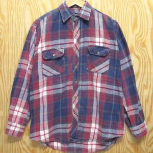 古着 BIG YANK ネルシャツ M ビッグヤンク コットン チェック シャツ ストアブランド|buffalohip