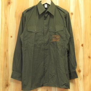 デッドストック オーストリア軍 フィールドシャツ 未使用 実物 本物 ミリタリー|buffalohip