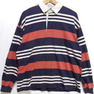 古着 ラガーシャツ IZOD/アイゾッド L アメリカ製|buffalohip