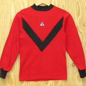 ビンテージ古着 長袖Tシャツ le coq sportif ルコックスポルティフ ジュニアorレディースサイズ フランス製 ゲームシャツ|buffalohip