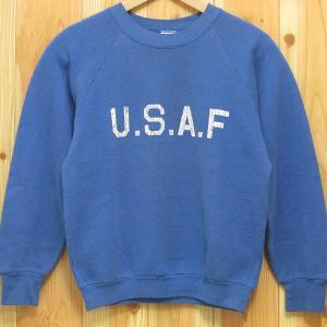 USAF『古着 スウェット トレーナー』ミリタリー アメリカ製 フルーツ・オブ・ザ・ルーム|buffalohip