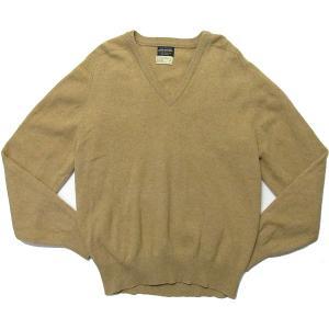 OLD『ブルックスブラザーズ Vネック セーター』イギリス製 BROOKS BROTHER 古着|buffalohip