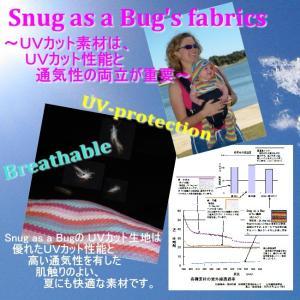 UVカットベビーラップ  (春夏用足つきおくるみ)赤ちゃんの紫外線対策に|bugbugbaby|05
