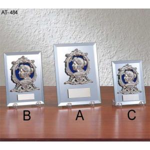 表彰楯/優勝楯/AT-8484A/210×160mm/SO-4/文字彫刻無料|bugyo