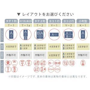 シャチハタ 印鑑:ネームエルツイン別注品 (ネーム印+訂正印) bugyo 05