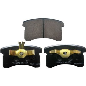 【ムーヴ】L600S L602S L610S 用 フロントブレーキパット 【TOPLEAD製】