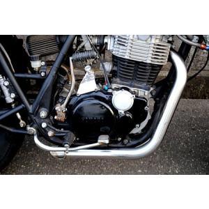 ショートドラッグパイプ マフラー/SR400/SR500