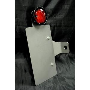 サイドナンバーKIT ドリルドテール付(LED)/TW200/TW225|buhinyakw