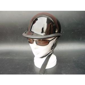 ジョッキータイプ 装飾用/ハーフ ヘルメット|buhinyakw