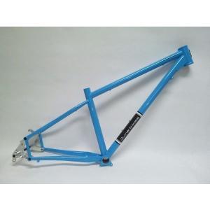June bikes / All Mountain Trail 650B 12×142mmスルーアクスルリアエンド アイスブルー|buildupbicycle