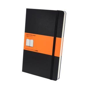 モレスキン定番ロングセラーのひとつ、ルールド(横罫)ノートブック ラージサイズ。 使いやすい横罫線は...