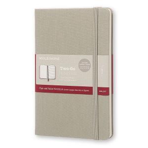 モレスキンノートブックでは初となる、ミクストレイアウトのノートブック。 見開きページの左側には無地を...
