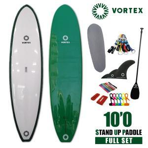 スタンドアップパドルボード10f 緑フルセット VORTEX  SUP パドルサーフィン 希望小売価格の54%OFF