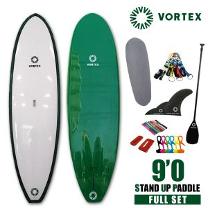 スタンドアップパドルボード9f 緑フルセット VORTEX  SUP パドルサーフィン 希望小売価格の54%OFF