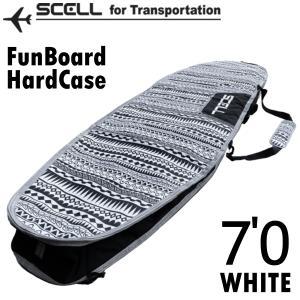サーフボードケース 7'0 ハードケース ファンボード SCELL サーフィン 希望小売価格の50%...