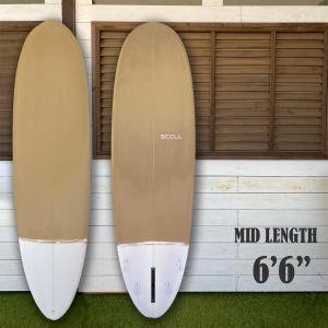 ミッドレングス6'6 KW SCELLミッドレングス サーフィン サーフボード 6'6 セル フィン