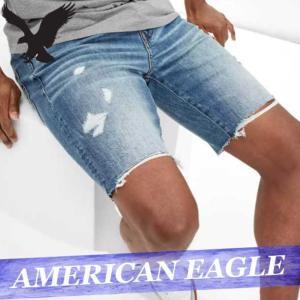 アメリカンイーグル  ショートパンツ/ハーフパンツ/短パン  デニム/ジーンズ/ジーパン  メンズ  ボトムス  新作  AEO|bumps-jp