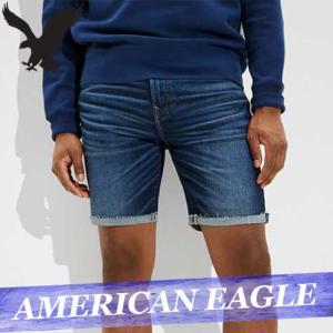アメリカンイーグル ショートパンツ ハーフ 短パン デニム ジーンズ ジーパン メンズ ダメージ加工 ボトムス 半ズボン 新作 AEO|bumps-jp