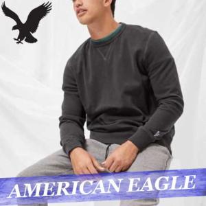 アメリカンイーグル  トレーナー  スウェットシャツ  メンズ  ハーフジップ  無地  ロゴ  XS〜XXXL  アメカジ  新作  AEO|bumps-jp