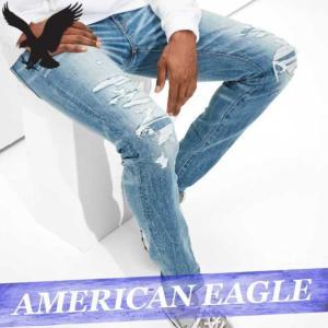 アメリカンイーグル  ジーンズ/デニムパンツ/ジーパン  スキニー  メンズ  ボトムス  新作  AEO|bumps-jp