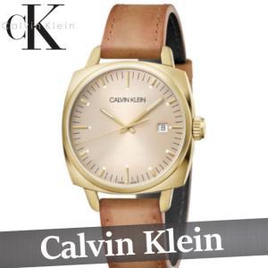 カルバンクライン  腕時計/時計/ウォッチ  メンズ  30M防水  スイス製  レザー  新作 CK|bumps-jp