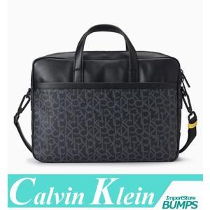 カルバンクライン  ビジネス/コンピューター/ショルダーバッグ  メンズ  CKモノグラムロゴ  鞄  BAG  新作 CK|bumps-jp