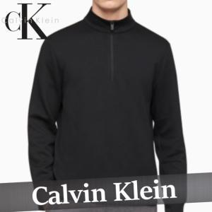 カルバンクライン  トレーナー  ハーフジップ  スウェットシャツ  メンズ  メタリック  ロゴ  XS〜XXL  新作  CK  CALVIN  KLEIN|bumps-jp