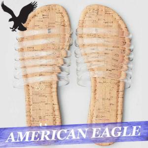 アメリカンイーグル  スライド/シャワー/スポーツサンダル  フラットシューズ  レディース/ウィメンズ  スエード  靴 新作 AEO|bumps-jp
