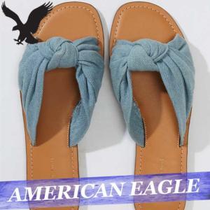 アメリカンイーグル  スライドサンダル/フラットシューズ  レディース/ウィメンズ  バックル  新作 AEO 靴|bumps-jp