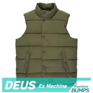 DEUS デウス エクスマキナ  中綿ベスト  ジャケット  メンズ  カーソン  XS〜XXL  アウター デウス 新作 bumps-jp