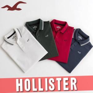 ホリスター/アバクロ  ポロシャツ  半袖  メンズ  ロゴ  XS〜XL  新作  HCO サーフ